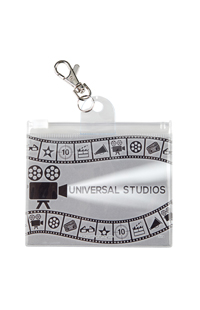Universal Studios Film Reel Lanyard Pouch