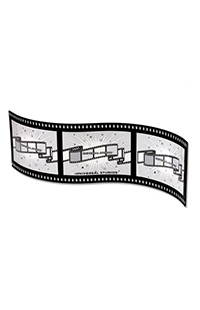 Universal Studios Filmstrip Photo Frame