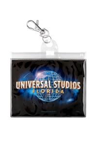 Universal Studios Florida Globe Lanyard Pouch