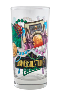 Universal Studios Florida Mardi Gras Collectible Glass