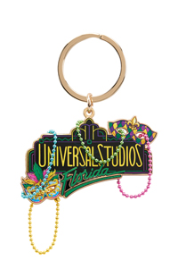 Universal Studios Florida Mardi Gras Keychain