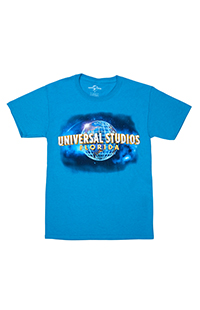 Universal Studios Florida Turquoise Blue Adult T-Shirt
