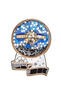 Universal Studios Glitter Globe Pin