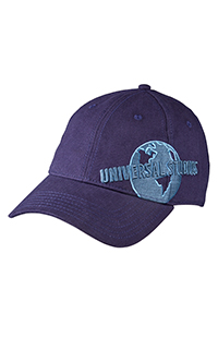 Universal Studios Globe Navy Blue Adult Cap