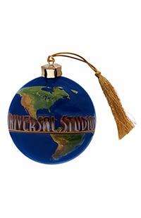 Universal Studios Globe Ornament