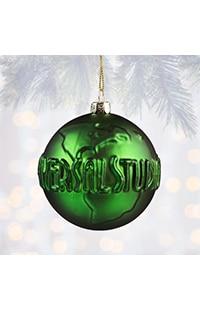 Universal Studios Green Molded Ornament