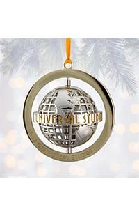 Universal Studios Grid Globe Spinner Ornament