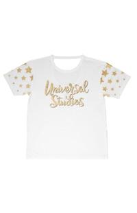 Universal Studios Ladies Cut Out T-Shirt