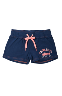 Universal Studios Ladies Navy Lounge Shorts