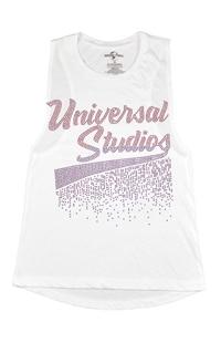 Universal Studios Ladies Rhinestud Tank