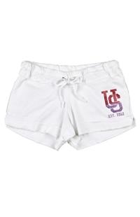 Universal Studios Ladies White Lounge Shorts