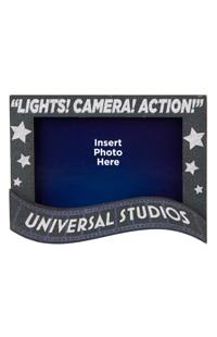 """Universal Studios """"Lights! Camera! Action!"""" Frame Magnet"""