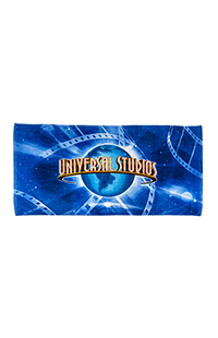Universal Studios Logo Film Strip Beach Towel