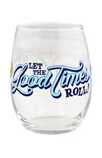 Universal Studios Mardi Gras Stemless Wine Glass