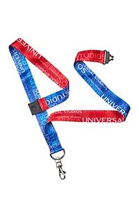 Universal Studios Red & Blue Lanyard