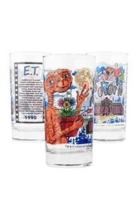 Universal Studios Retro E.T. Adventure Collectible Glass