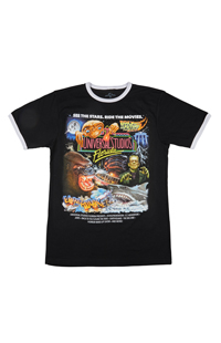 Universal Studios Retro Marquee Adult Ringer T-Shirt