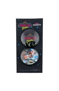 Universal Studios Retro Marquee Bubble Magnet Set