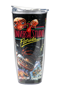 Universal Studios Retro Marquee Coca-Cola Freestyle Tumbler