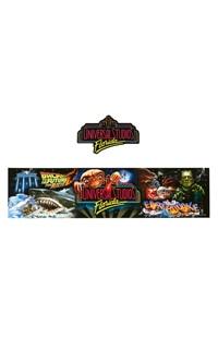 Universal Studios Retro Marquee Decal & Bumper Strip 2-Piece Set