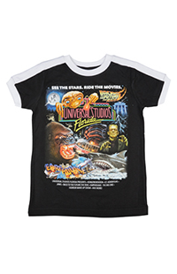 Universal Studios Retro Marquee Youth Ringer T-Shirt
