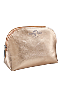 Universal Studios Rose Gold-Tone Cosmetic Case